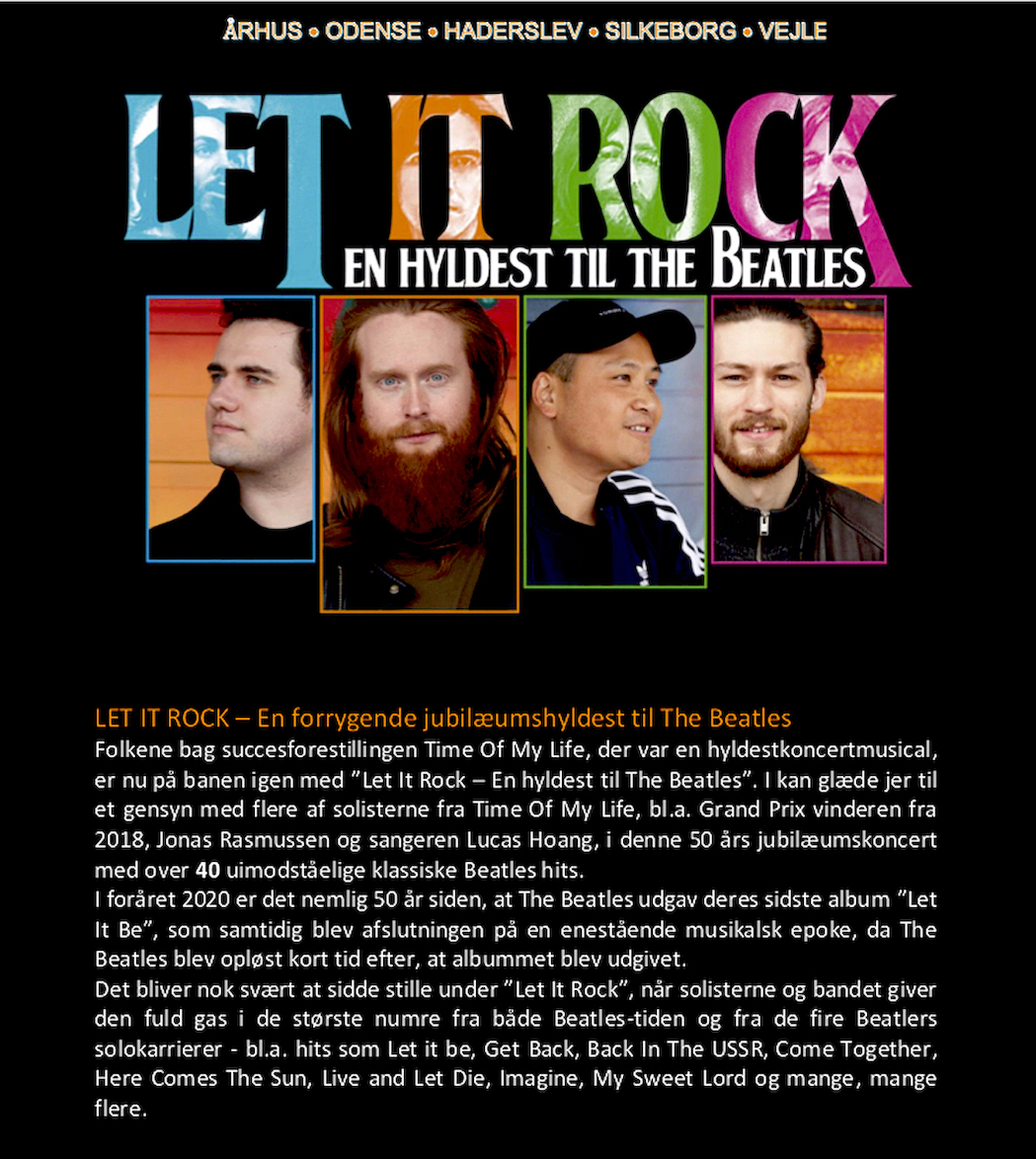 Beatles Let It Rock1 til hjs